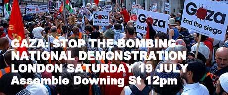 National demo gaza