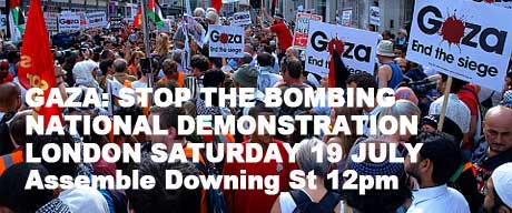 National demo gaza