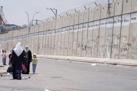Israele Gaza Muro