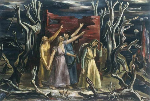Raquel Forner Argentina Darkness Tinieblas 1943 5