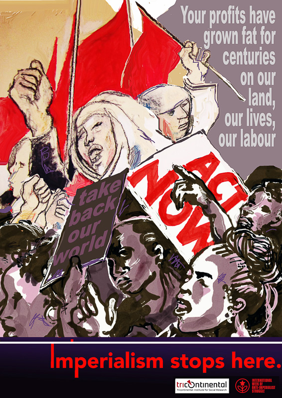 Judy Seidman Imperialism stops here South Africa