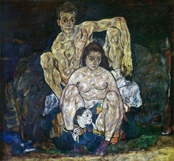 Egon Schiele The Family 1918 4