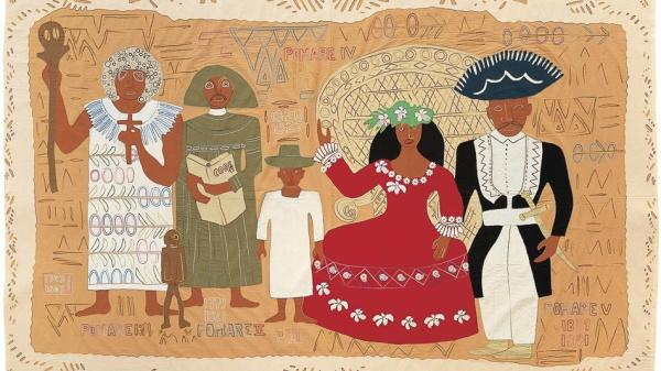 Aline Amaru Tahiti La Famille Pomare 1991 1