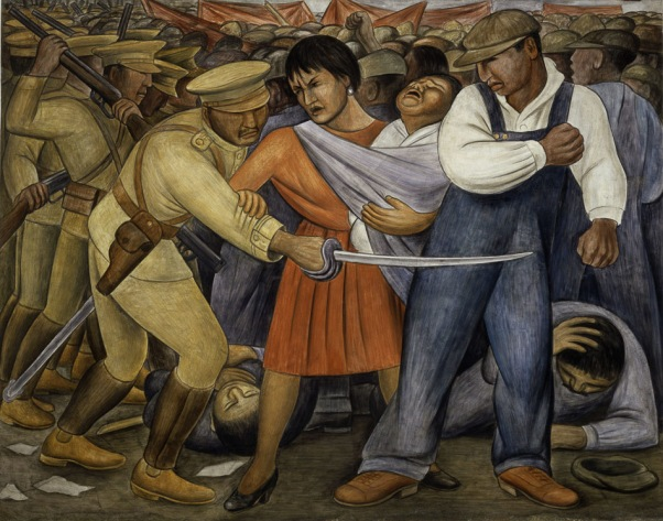 Diego Rivera Mexico The Uprising 1931 4