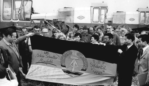 33 LPG Mansfeld Solidaritätsbekundung mit Vietnam