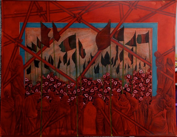 Mohsen Taasha Wahidi Afghanistan Rebirth of the Red 2017 3