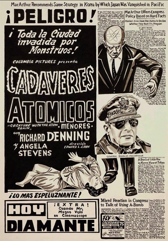 Fernando Bryce Peru Untitled Cadaveres Atomicos 2018