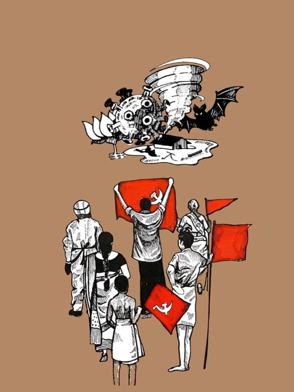 Gopika Babu Armed With Red 2021 3