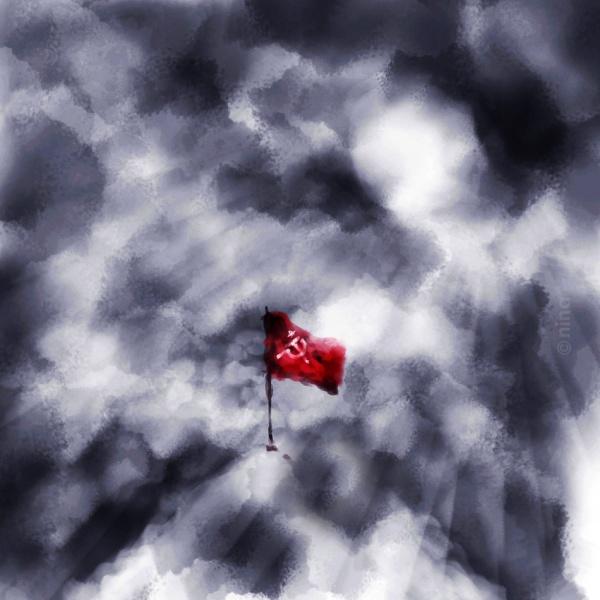 Nipin Narayanan Flag in the Storm 2016 1