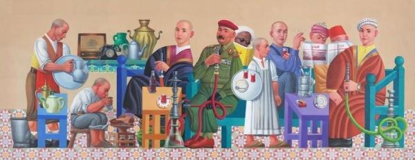 Faisal Laibi Sahi Iraq Cafe 2 2014