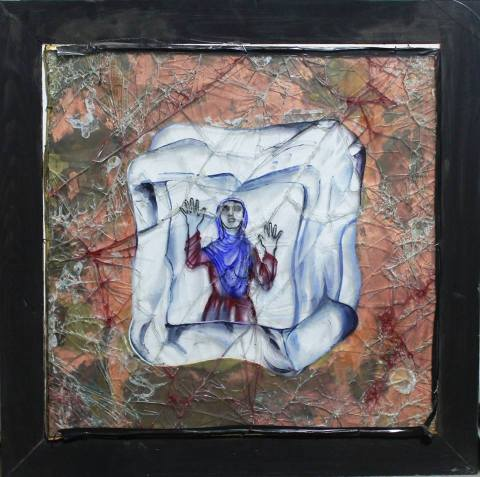 Malina Suliman Afghanistan Girl in the Ice Cube 2013