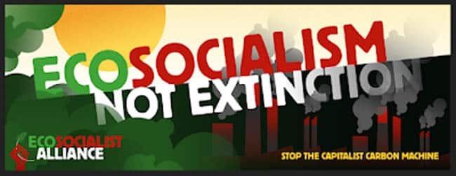 Ecosocialism not Extinction